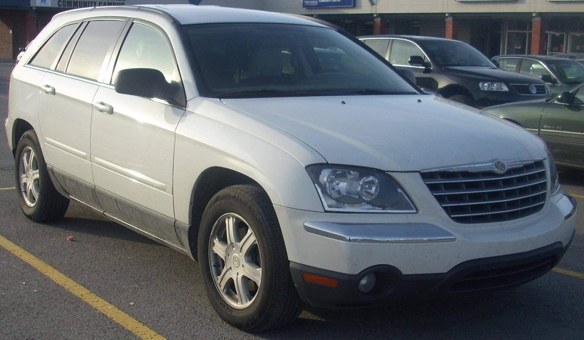 2007 chrysler pacifica touring wagon 4 0l v6 awd auto. Black Bedroom Furniture Sets. Home Design Ideas