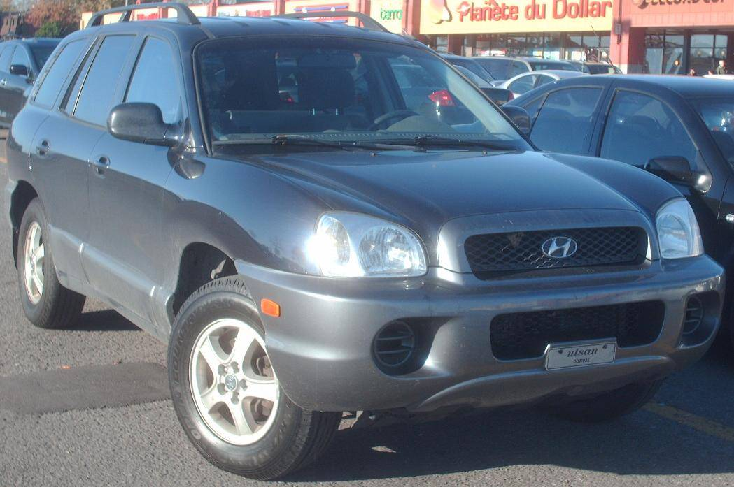 2004 hyundai santa fe base 4dr suv 2 4l manual. Black Bedroom Furniture Sets. Home Design Ideas