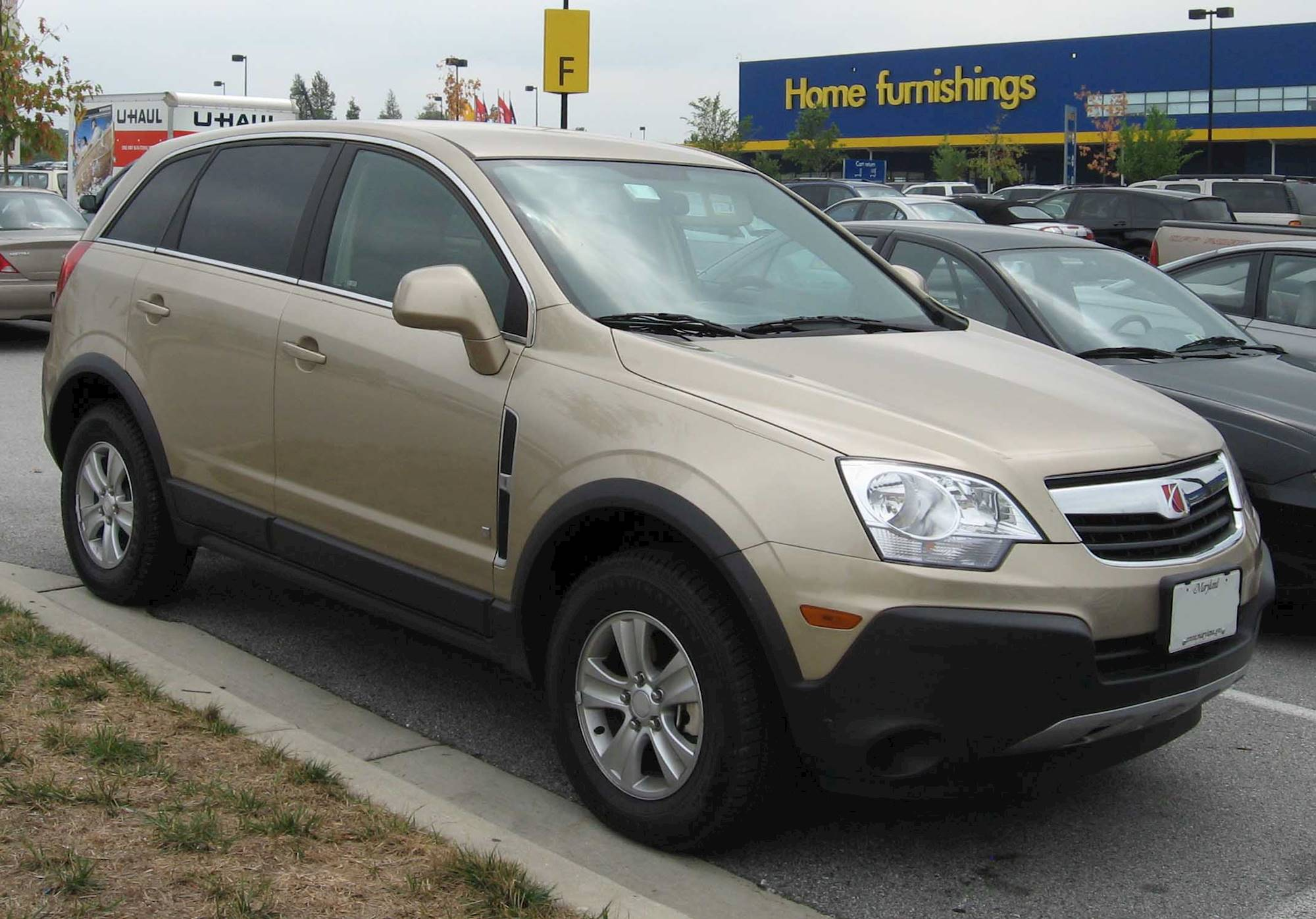 vue saturn 2008 xe v6 suv awd line 6l auto 4dr cars