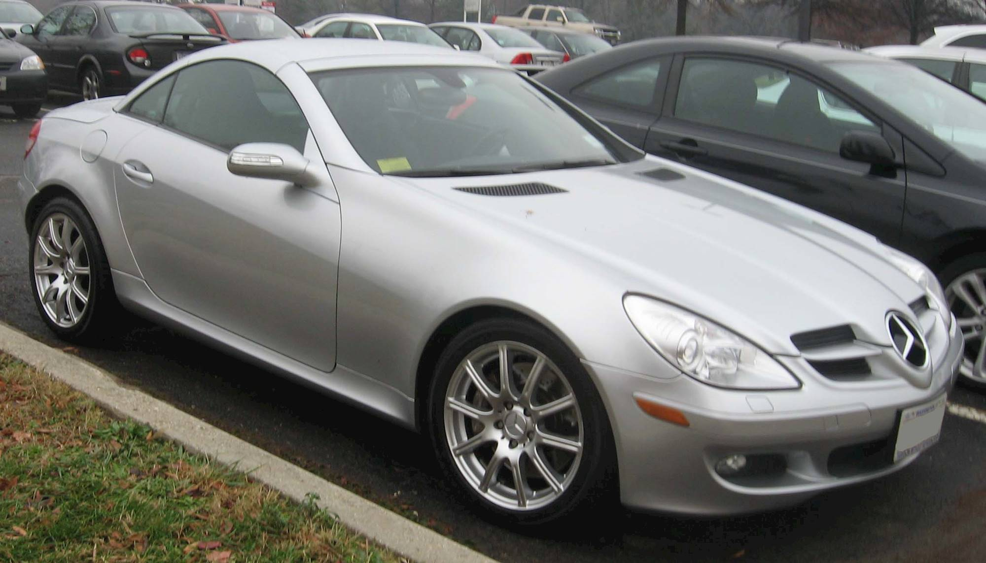 2006 Mercedes Benz SLK350 Base 2dr Roadster 6 spd manual w OD