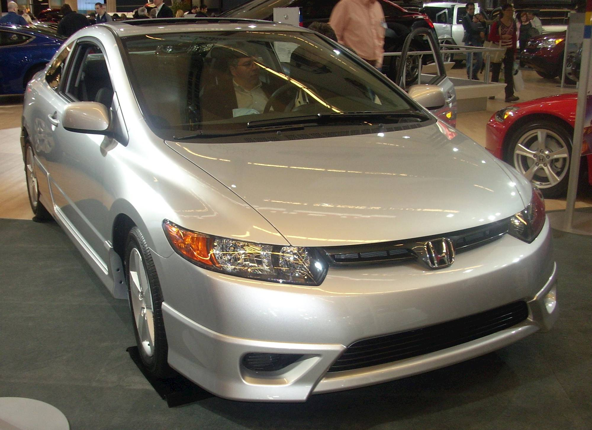 honda civic coupe  door automatic dx