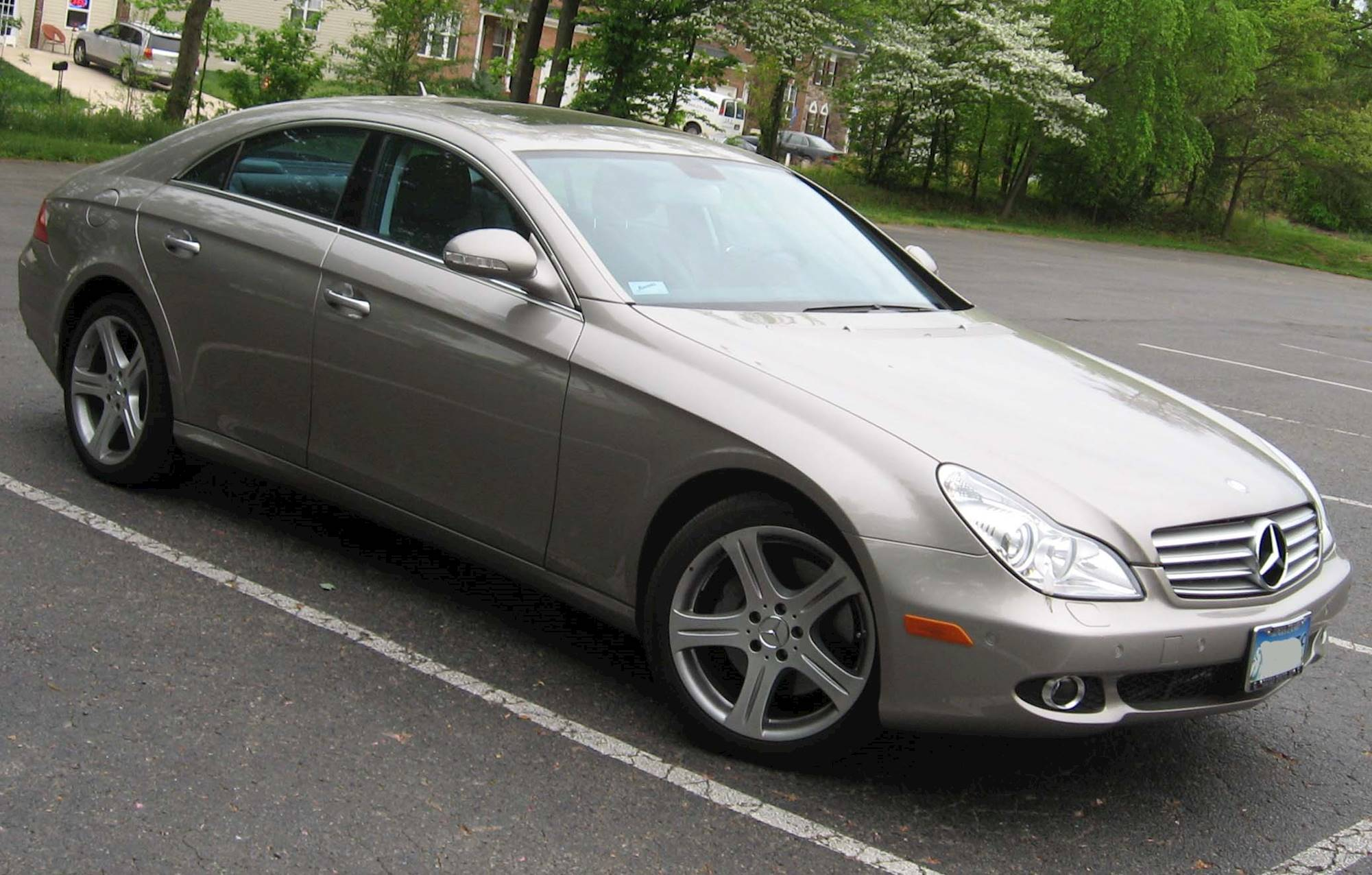 2007 Mercedes Benz CLS550 Base 4dr Coupe 7 spd TouchShift w OD