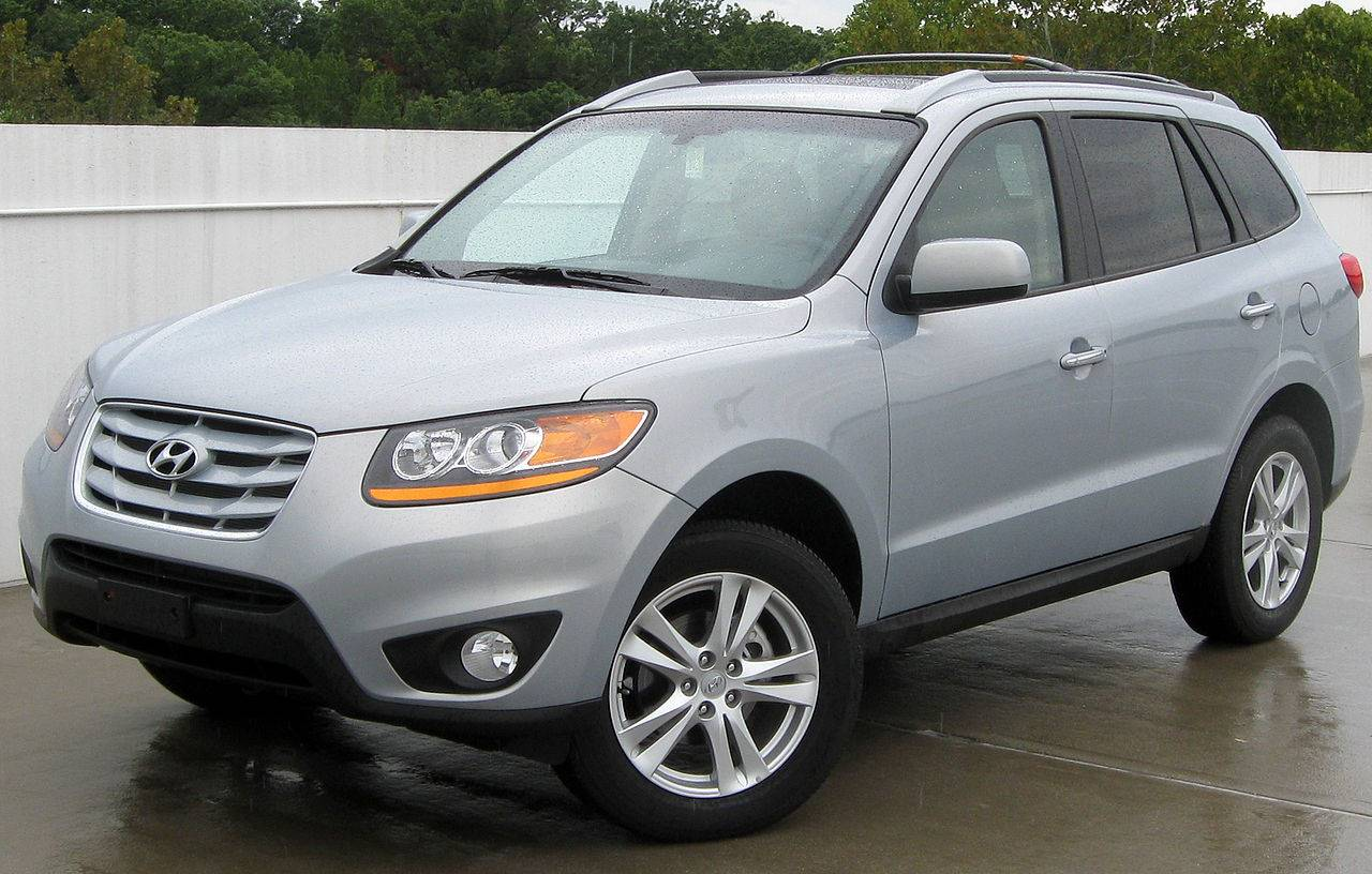 2010 hyundai santa fe se 4dr suv 3 5l v6 awd auto. Black Bedroom Furniture Sets. Home Design Ideas