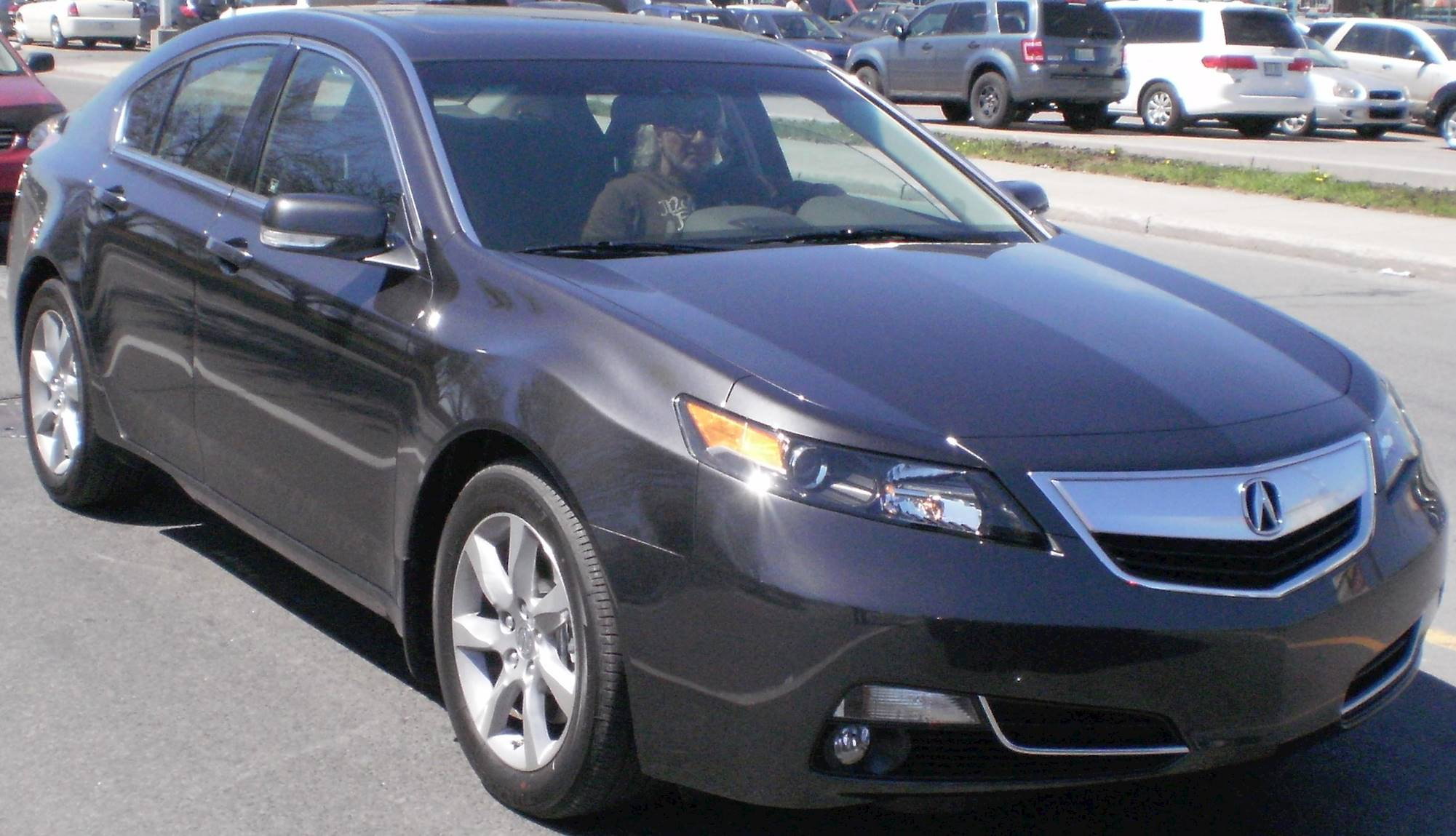 2011 Acura TL SH AWD w Technology Package and HPT Sedan 3 7L V6