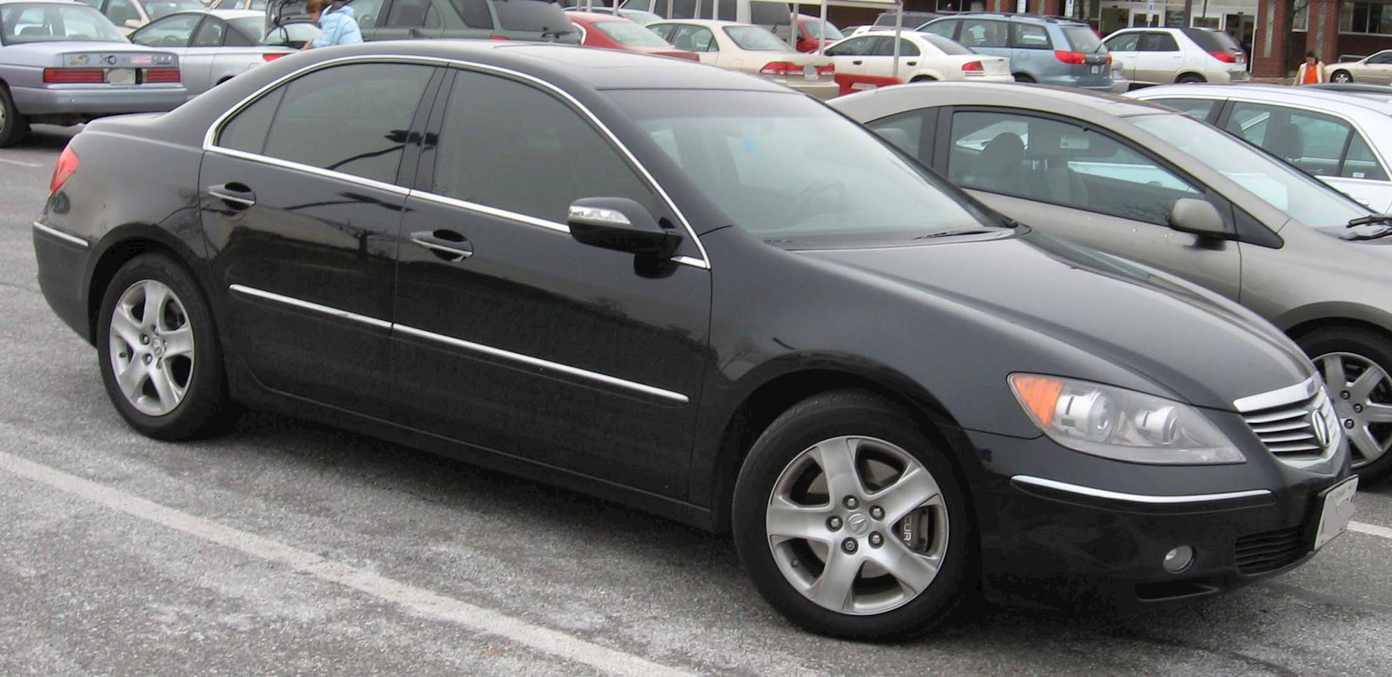 2005 acura rl 3 5 sedan v6 awd auto. Black Bedroom Furniture Sets. Home Design Ideas