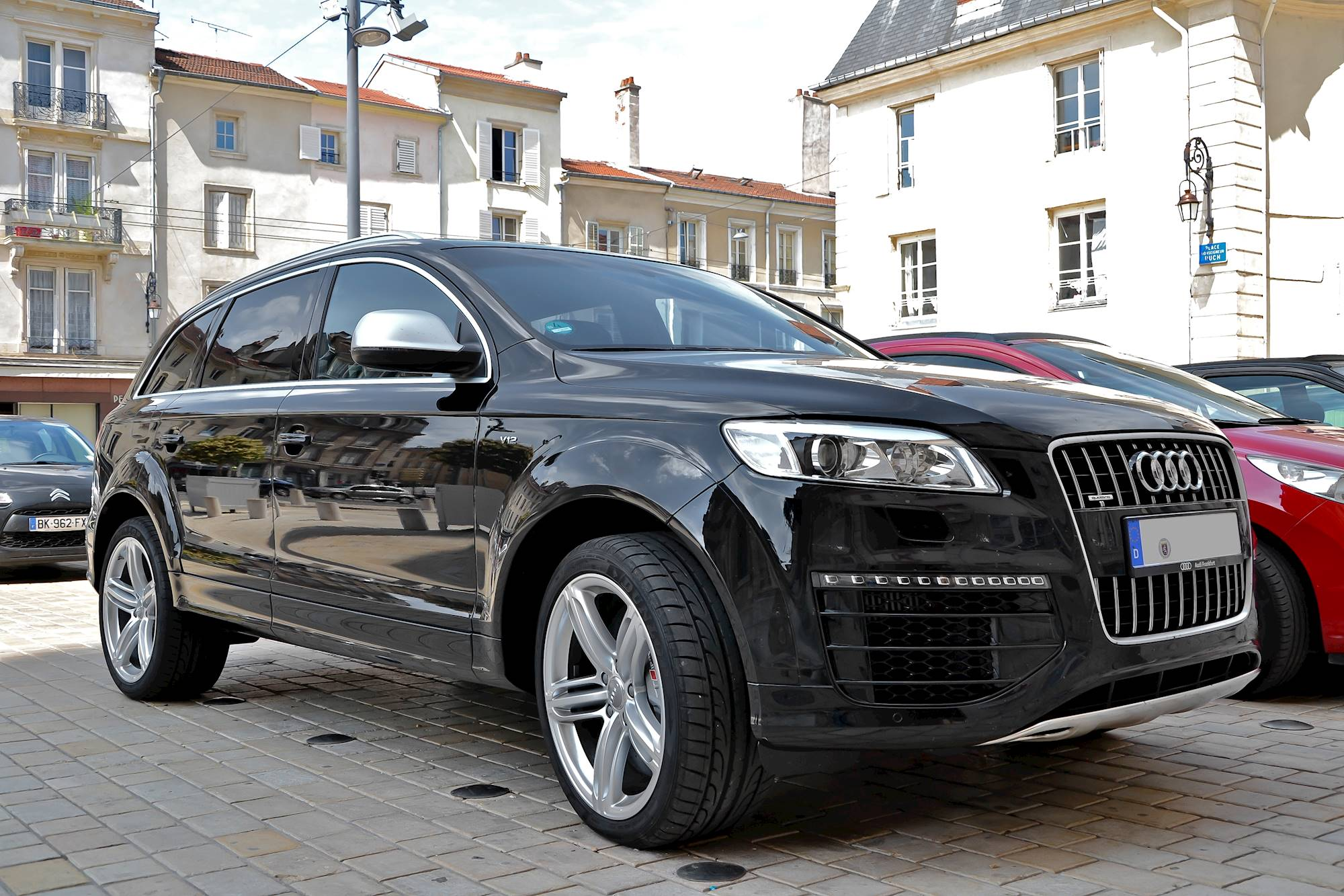 2013 audi q7 3 0t premium plus quattro 4dr suv 3 0l v6. Black Bedroom Furniture Sets. Home Design Ideas