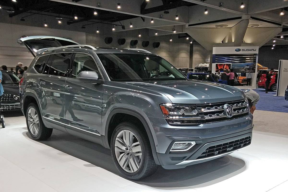 2018 volkswagen atlas 3.6l v6 launch edition 4motion