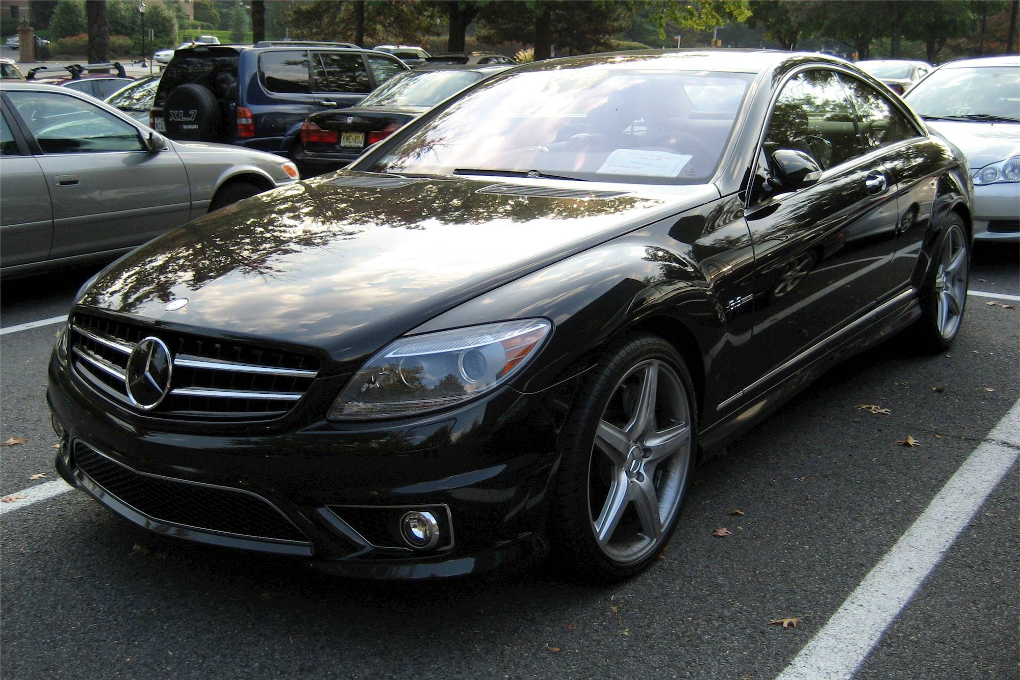 2008 Mercedes Benz CL63 AMG Base 2dr Coupe 7 spd TouchShift w