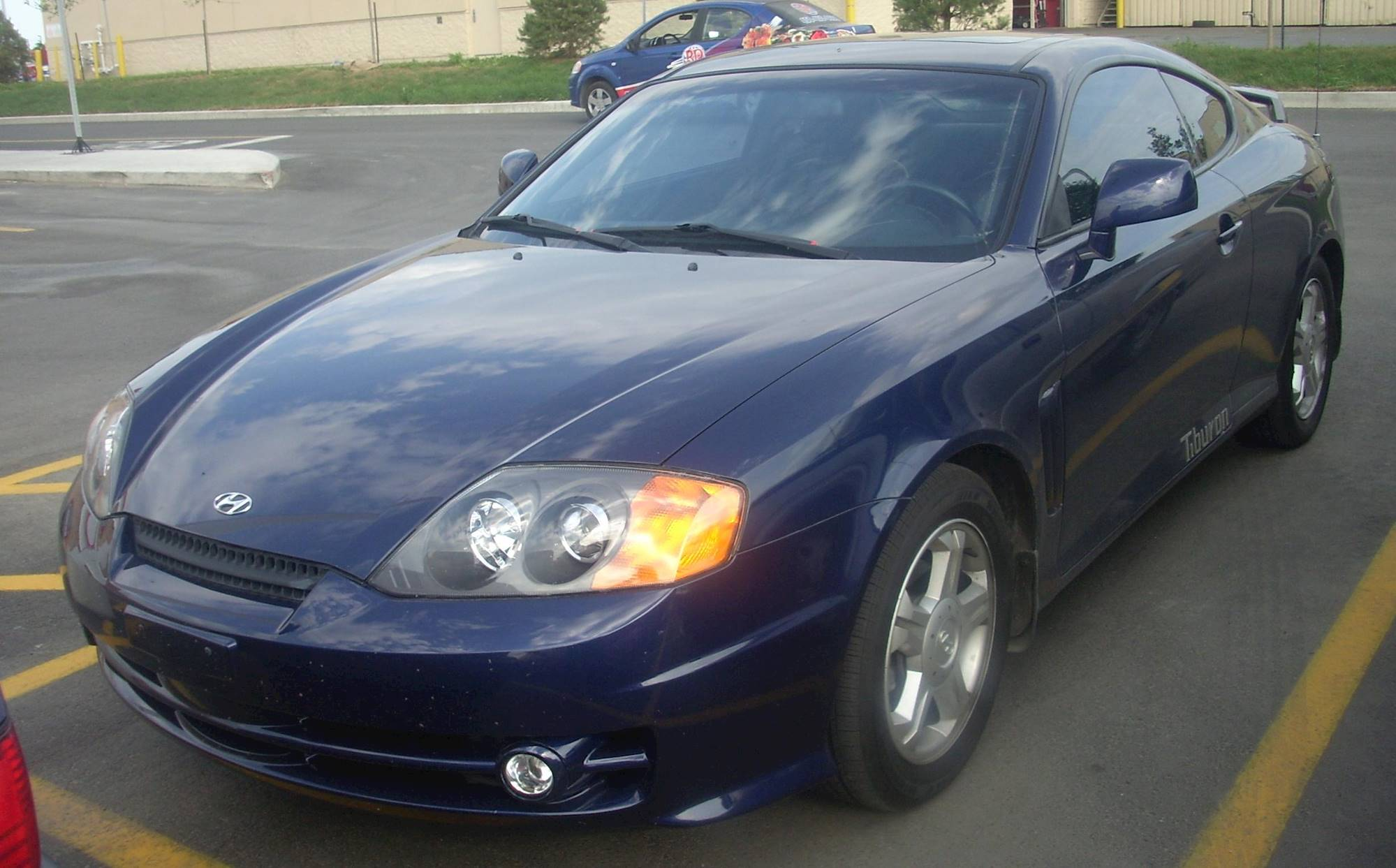 2000 Hyundai Tiburon Base Pkg 3 & 4 2dr Coupe 5 spd manual w OD