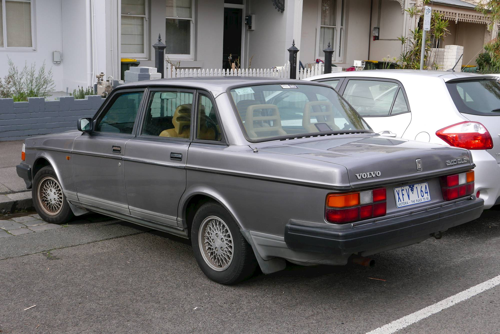 1992 Volvo 240 Gl 4dr Sedan 5 Spd Manual W Od