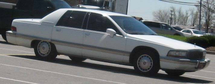 1996 Buick Roadmaster Coachbuilder 4dr Station Wagon 4