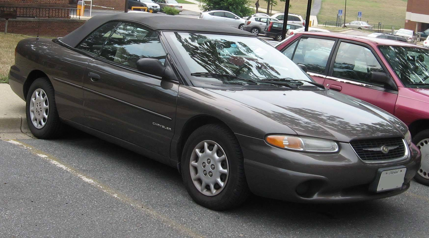 ... 1999 Chrysler Sebring ...