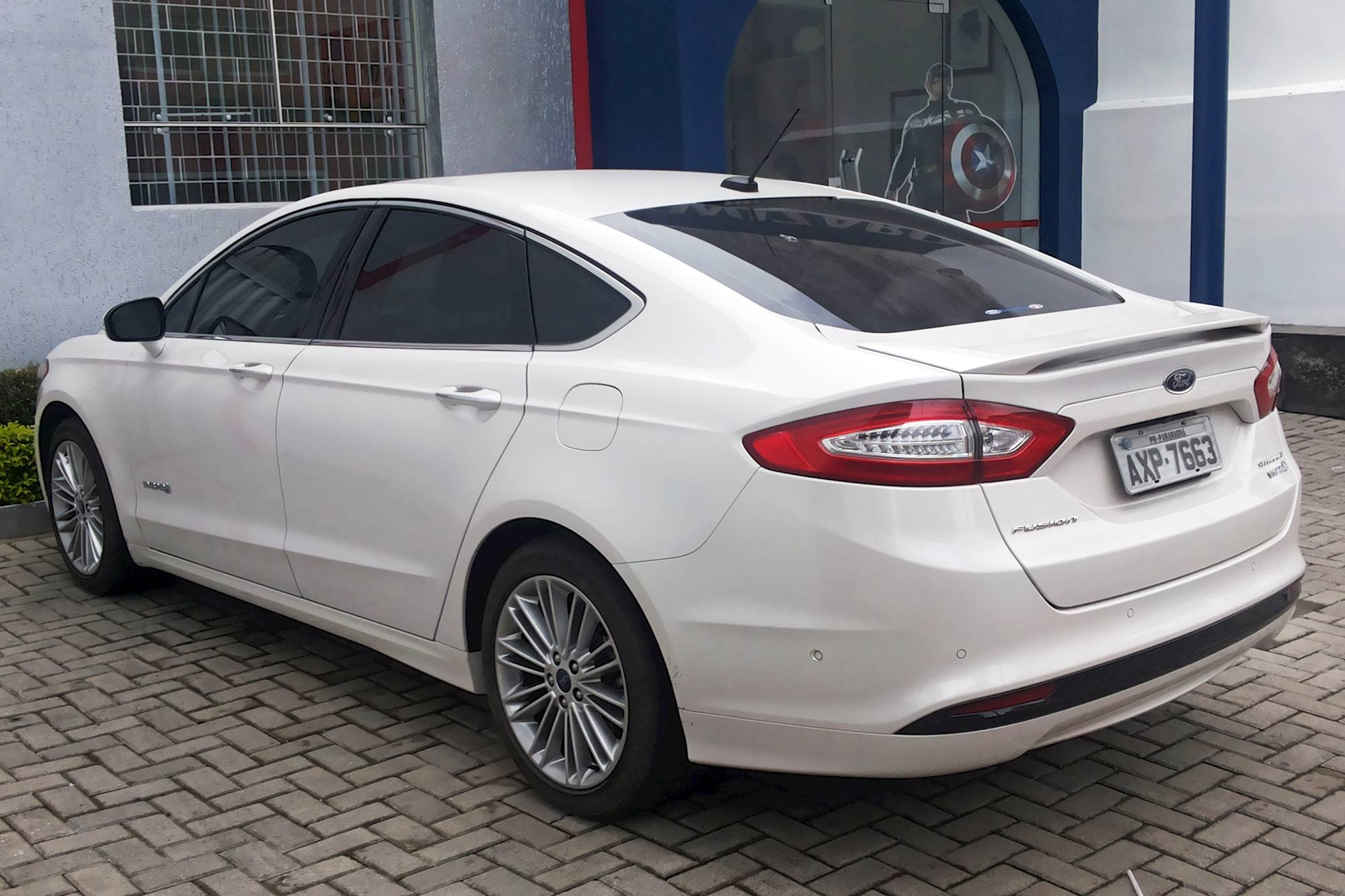 2015 Ford Fusion Titanium Sedan 2 0l Turbo Awd Auto W