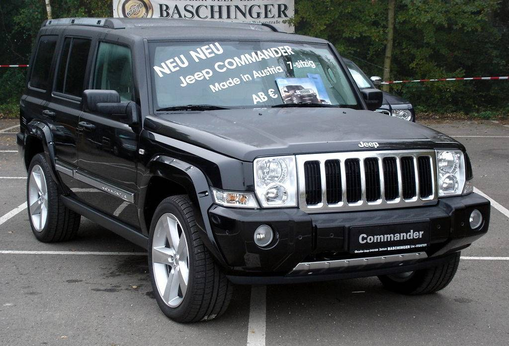 2007 jeep commander limited 4dr suv 4 7l v8 4x4 auto. Black Bedroom Furniture Sets. Home Design Ideas