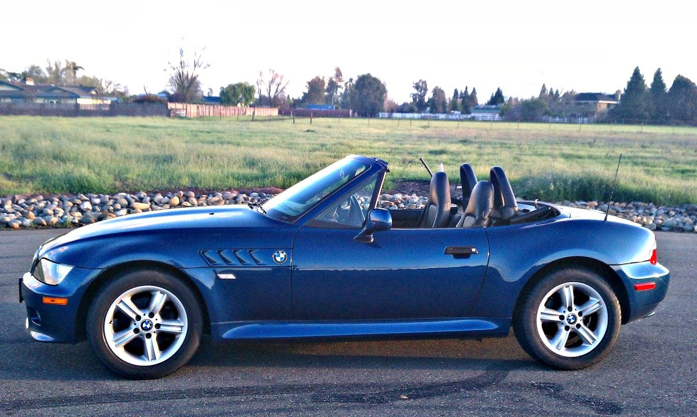 2000 Bmw Z3 23 Convertible Manual