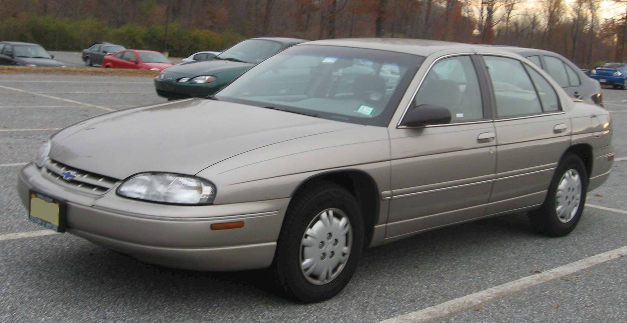 1998 Dark Jade Green Metallic Chevrolet Lumina LTZ ...