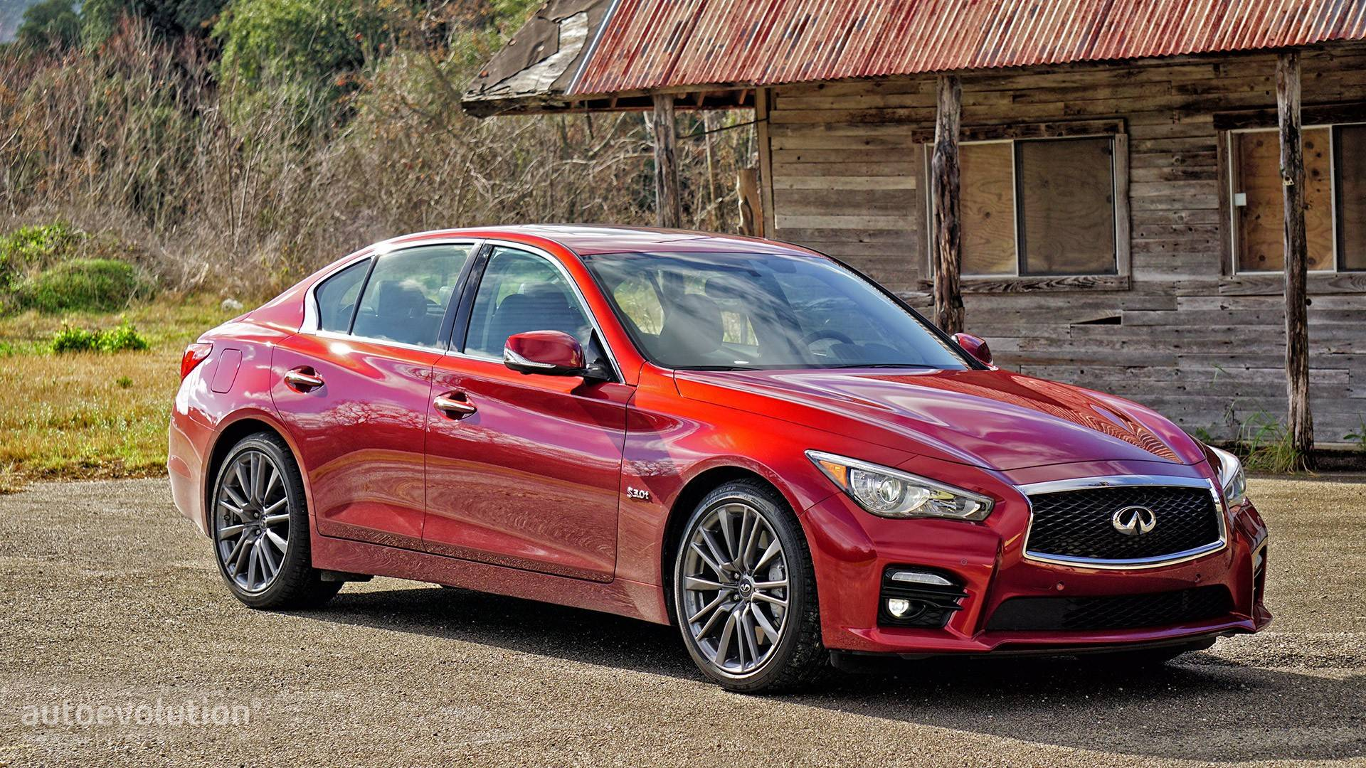 2016 Infiniti Q50 4-Door Sedan 2.0t Base AWD
