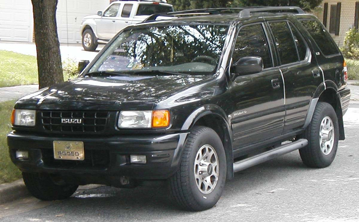 1999 Isuzu Rodeo Ls 4dr Suv 3 2l V6 4x4 Manual
