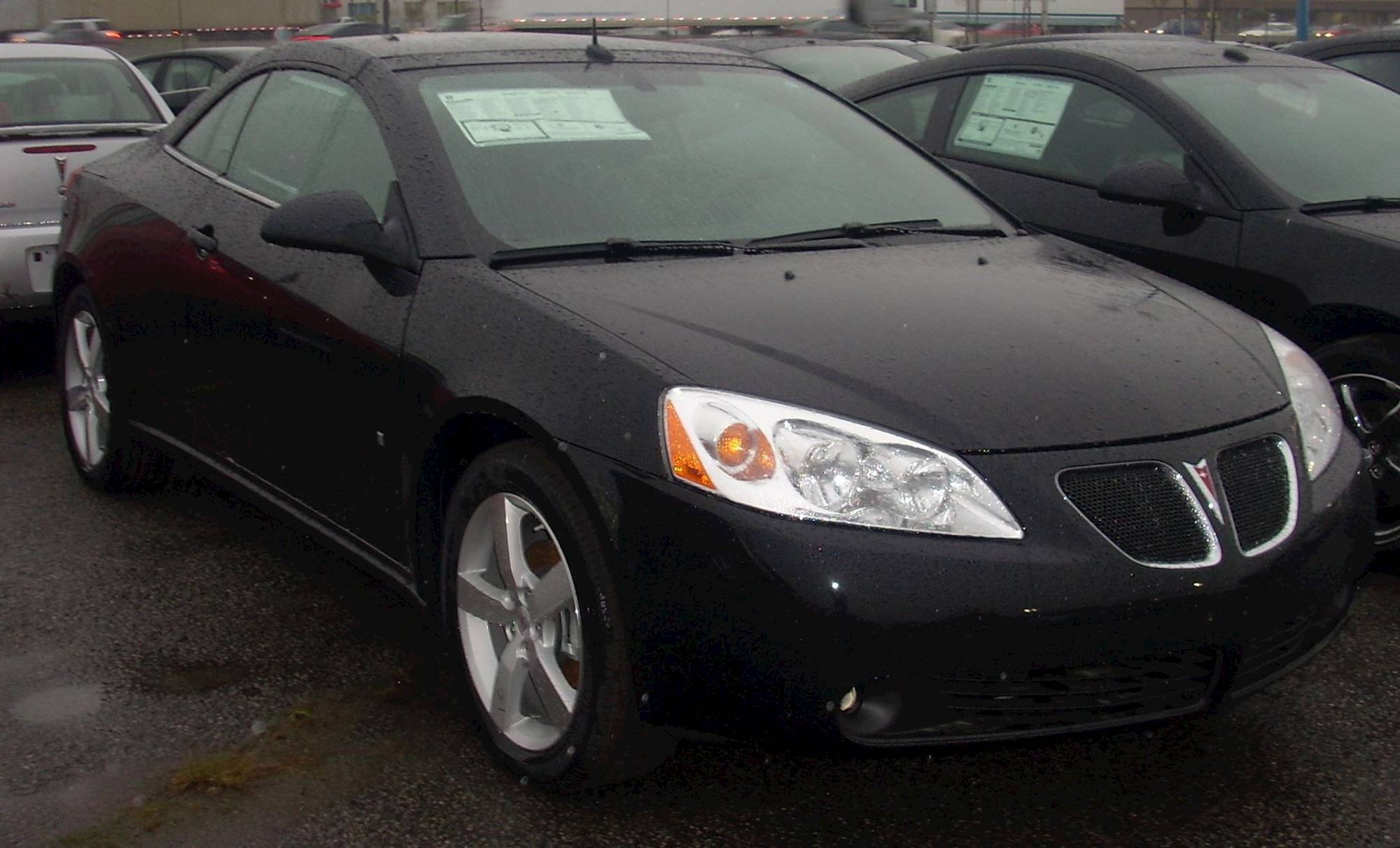 2008 Pontiac G6 Base Sedan 2 4l Auto