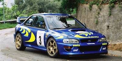 1997 Subaru Impreza Rally Car