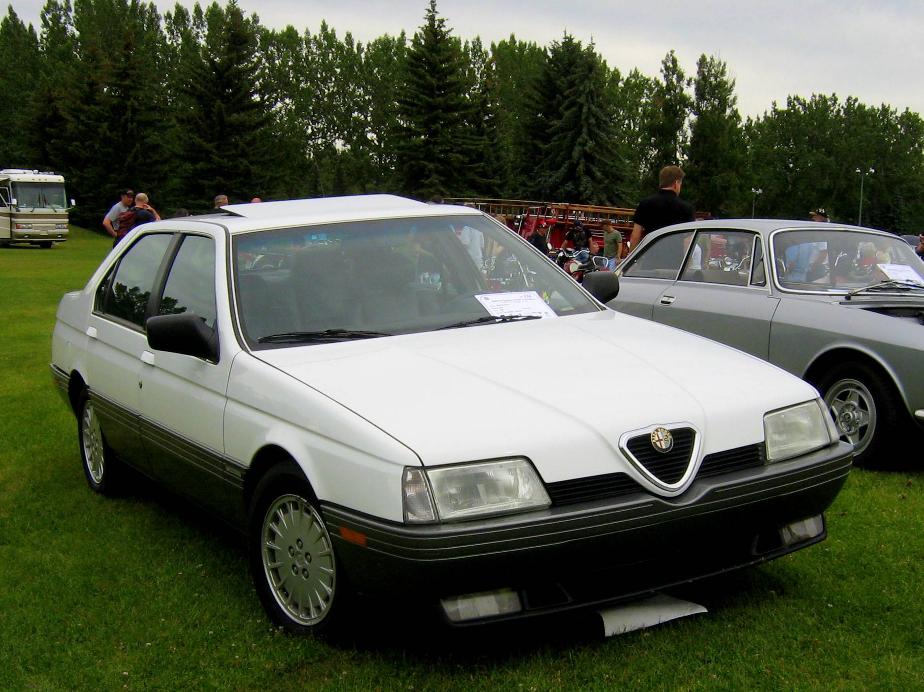 1995 Alfa Romeo 164 LS 4dr Sedan 5 spd manual w OD